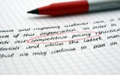 The Ins and Outs of Creating a Competitive Pricing Strategy